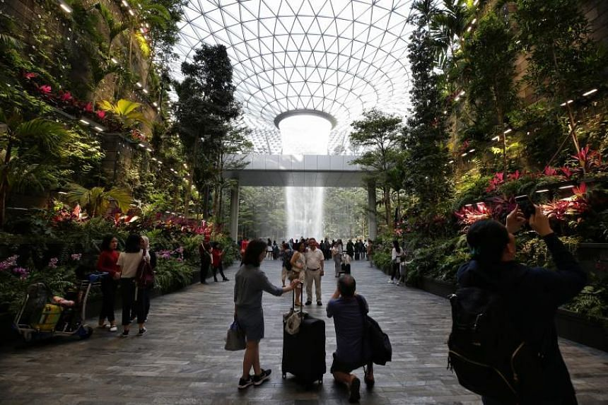 Closed-circuit television analytics and other technology are being used by Jewel Changi to manage crowds in real-time, with staff heading down to busy areas as soon as they are highlighted.