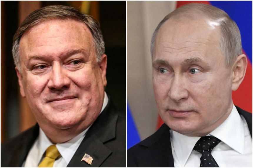 US Secretary of State Michael Pompeo will meet US diplomats at the American Embassy in Moscow on May 13, 2019, before continuing to Sochi for talks with President Vladimir Putin and other senior officials.