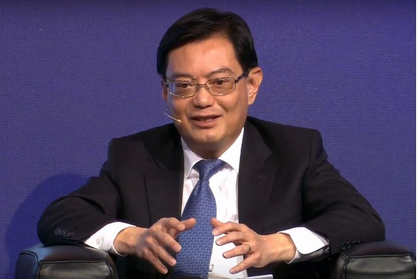 Deputy Prime Minister Heng Swee Keat at the 49th St Gallen Symposium in Switzerland, on May 9, 2019.