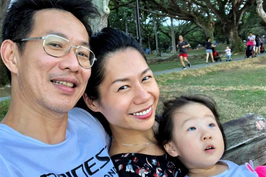 Ms Lily Kew, 48, recalls feeling guilty when she had to say goodbye to her daughter, Uli Seven Ong, then about 10 months old, to go on work trips.