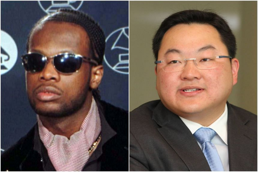 The United States have charged rapper Prakzarel Michel (left) and Malaysian businessman Low Taek Jho for conspiring to steer illegal foreign campaign funds into the 2012 presidential election.