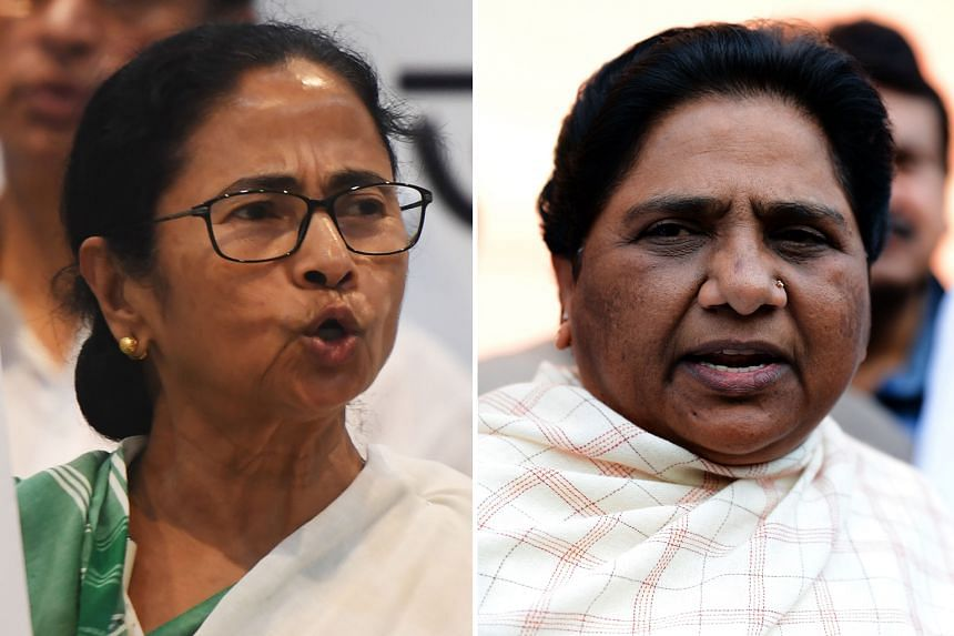 While women's representation in politics is low, India does have female leaders, such as firebrand Mamata Banerjee (left) and Ms Mayawati, also known as the queen of Dalits, a caste which faces much discrimination.