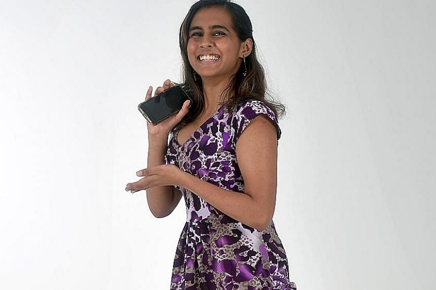 Like 51 per cent of the respondents, Ms Aneesha Moneesh Khanna, who is studying sociology and economics at the Singapore Institute of Management, says the prime minister's race does not matter at all. ST PHOTO: KUA CHEE SIONG