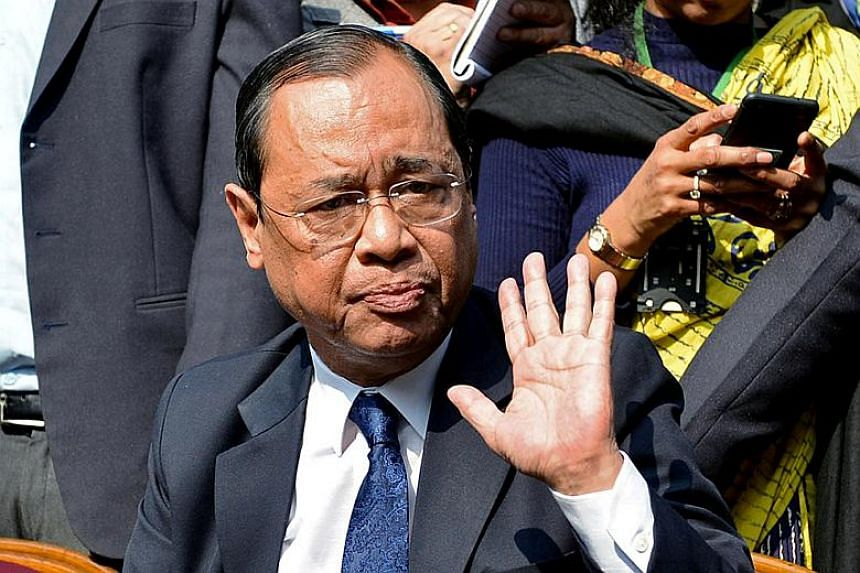 The three judge panel of the Supreme Court absolved Chief Justice Ranjan Gogoi of sexual misconduct allegations by a former female employee of the court.