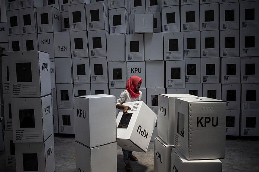 More than 162 volunteers died in four provinces - Jakarta, West Java, Riau Islands and Southeast Sulawesi - after working long hours on April 17.