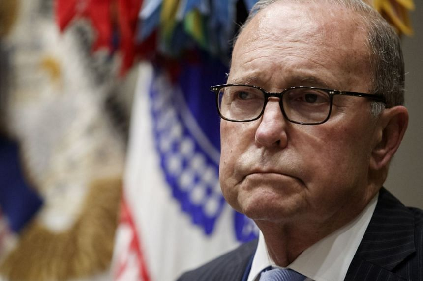 White House economic advisor Larry Kudlow in the Roosevelt room of the White House in Washington, DC, on May 9, 2019.