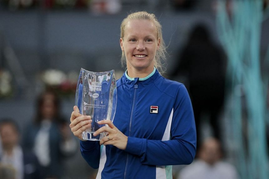 Kiki Bertens will move to a career-best fourth in the world rankings and become the highest ranked Dutchwoman in history.