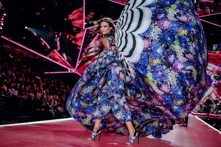 Josephine Skriver in last year's show, which drew an audience of 3.3 million viewers, down from 9.7 million in 2013.