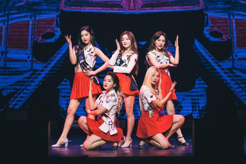 South Korean girl group Red Velvet performed at the 2019 Iseul Live Festival on Saturday (May 11), with fireworks set off after their showcase.