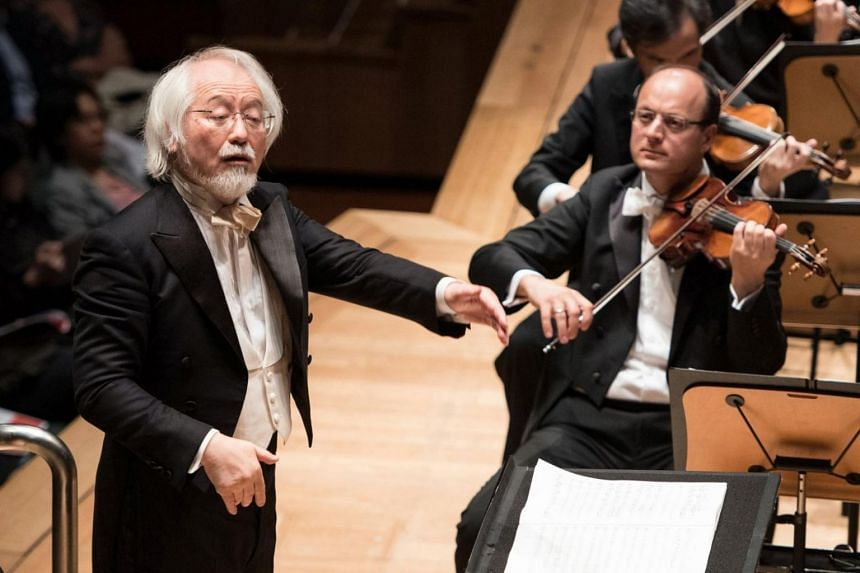 Running just over 72 minutes, Beethoven's monumental Missa Solemnis is an exhausting listen but Japanese conductor Masaaki Suzuki (left) kept a tight rein on the proceedings.