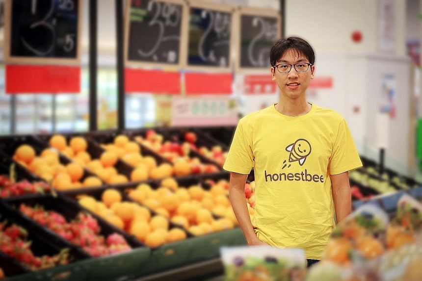Mr Jonathan Low is Honestbee's sole remaining co-founder.