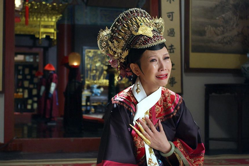Actress Ada Choi in the hit period drama Empresses In The Palace.