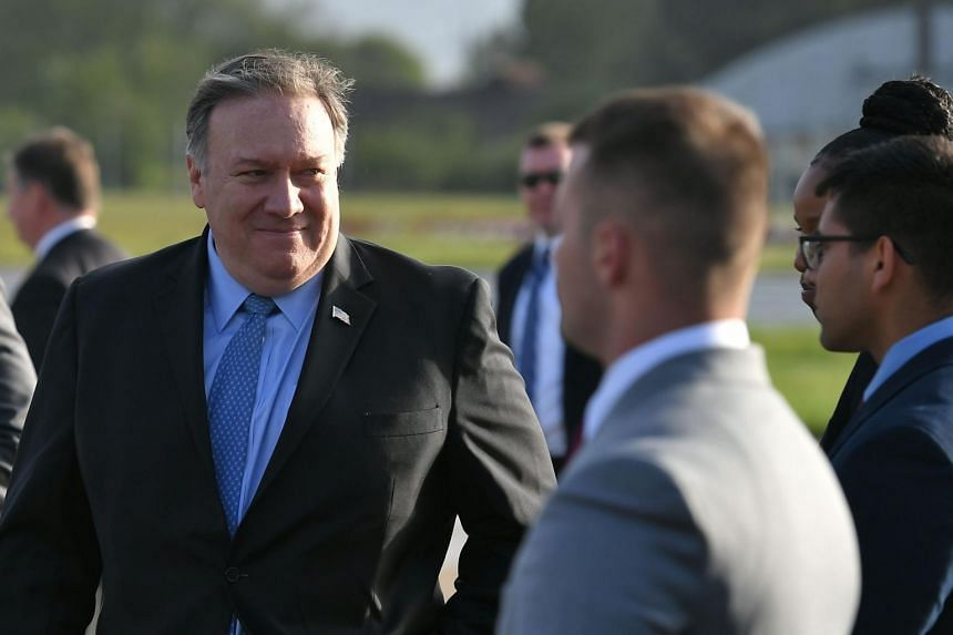 On his first trip to Russia as US Secretary of State, Mike Pompeo is expected to discuss the aggressive and destabilising actions Moscow has taken around the world.