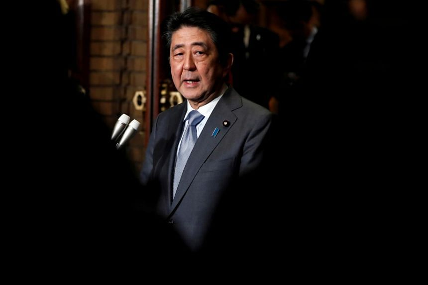 A poll found 55 per cent of respondents supported Japanese Prime Minister Shinzo Abe's Cabinet, up seven percentage points on the previous survey in late March.