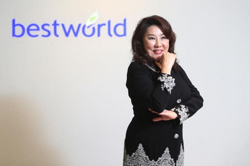 The brother-in-law of Best World chief executive Dora Hoan (pictured) is the sole shareholder and legal representative of Changsha Best, the company's primary import agent in China.