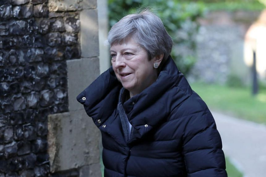 The Brexit Party was in the lead, up four percentage points, on 34 per cent while British Prime Minister Theresa May's Conservative Party had just 10 per cent, the poll showed.