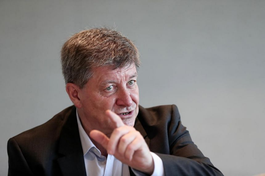 Interview with International Labour Organisation director general Guy Ryder, on the future of work.