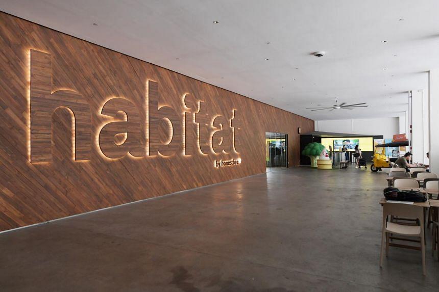 Habitat opened Singapore's first cashless and automated supermarket - called habitat - in October 2018.
