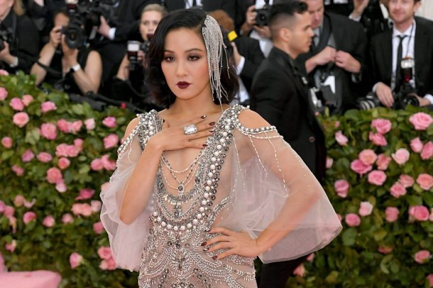 Crazy Rich Asians star Constance Wu at New York's Met Gala last week.