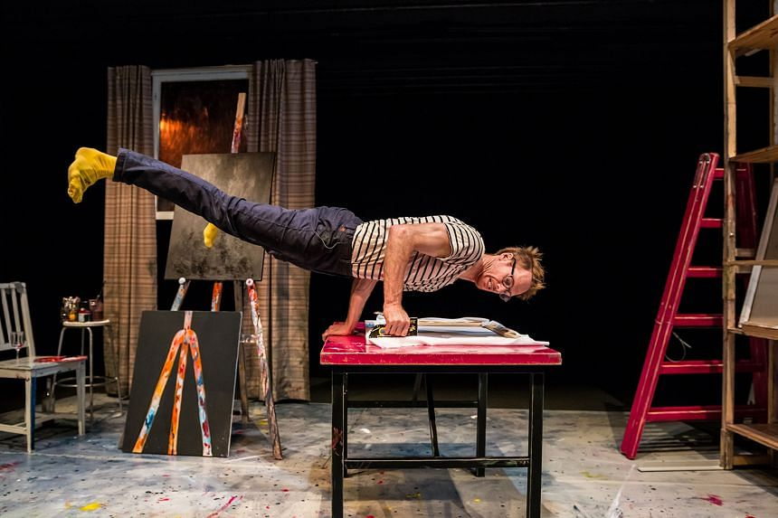 The Artist is a rib-tickling performance that combines hilarious clowning and physical theatre. PHOTO: ANTTI SAUKKO