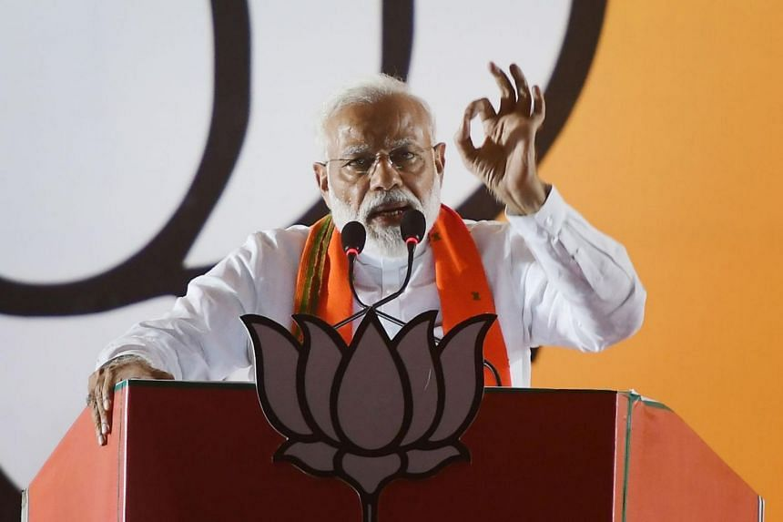 Indian Prime Minister Narendra Modi claimed in a weekend television interview that he ordered air strikes on Pakistan in February because cloud cover would stop radar detection of Indian fighter jets.