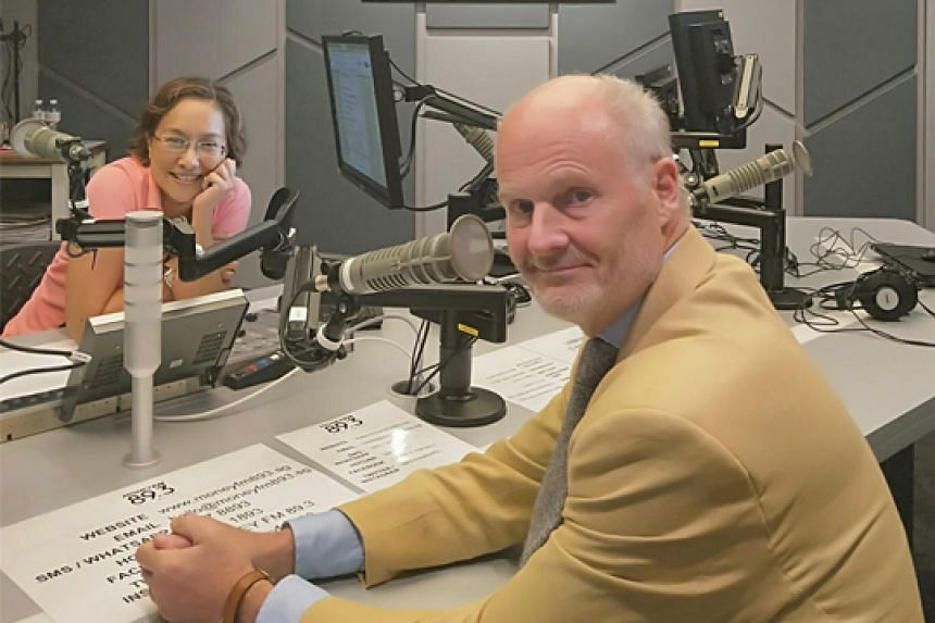 Watch dealer and collector Harry Fane (right) appears on Coffee with Claressa to talk about vintage Cartier tank watches and the part of his collection that will be for sale at the Dover Street Market Singapore.