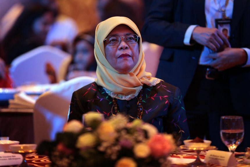President Halimah Yacob will meet Chinese President Xi Jinping on Tuesday afternoon, and be hosted to a welcome dinner by her Chinese counterpart later in the evening.