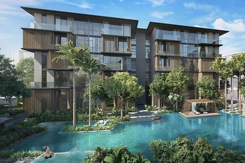 Parc Komo, CEL Development's freehold mixed development in Changi, is inspired by the Japanese concept of Komorebi, which celebrates the blend of nature and order, the company says.