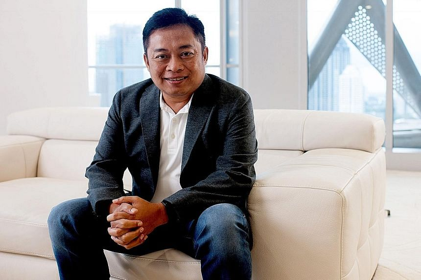 Telkomsel president director Ririek Adriansyah (above) says the telco's partnership with MDI Ventures and Singtel Innov8 will make it easier for regional start-ups in need of access to strategic capital.