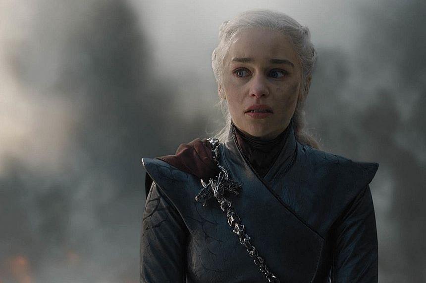 Emilia Clarke plays Dany, or Daenerys Targaryen, in Game Of Thrones (above).