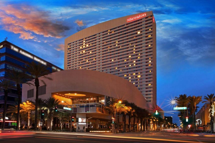 The Sheraton Grand Phoenix. The 1,000-room hotel is being remade into a prototype for the new face of the Sheraton brand.