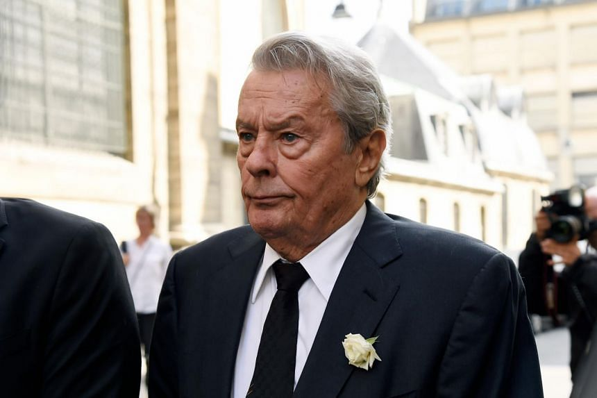 """Lobby group Women And Hollywood founder Melissa Silverstein said French star Alain Delon """"has publicly admitted to slapping women""""."""