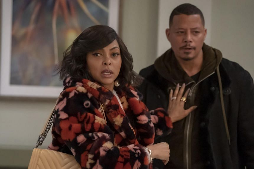 Actors Taraji P. Henson and Terrence Howard in the TV drama Empire's fifth season finale episode. Fox announced that the show's next season would be the last.
