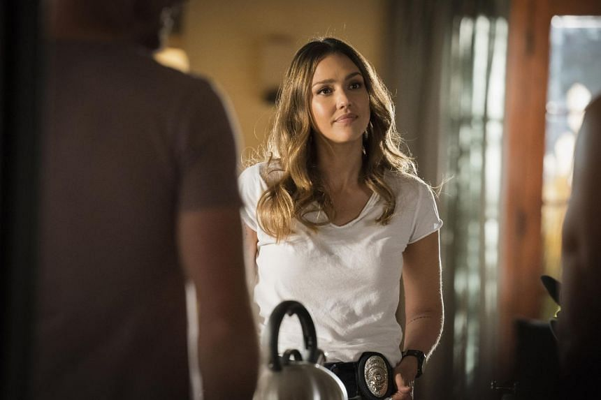 Jessica Alba From Cop Series L A S Finest Mother Actress And Businesswoman Entertainment News Top Stories The Straits Times