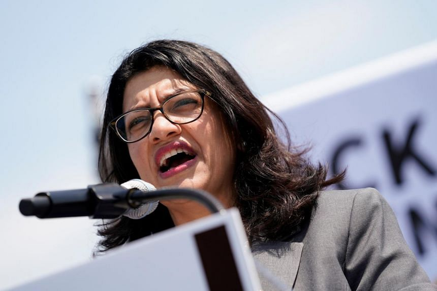 Representative Rashida Tlaib referenced the Holocaust during an interview on for a podcast last week.