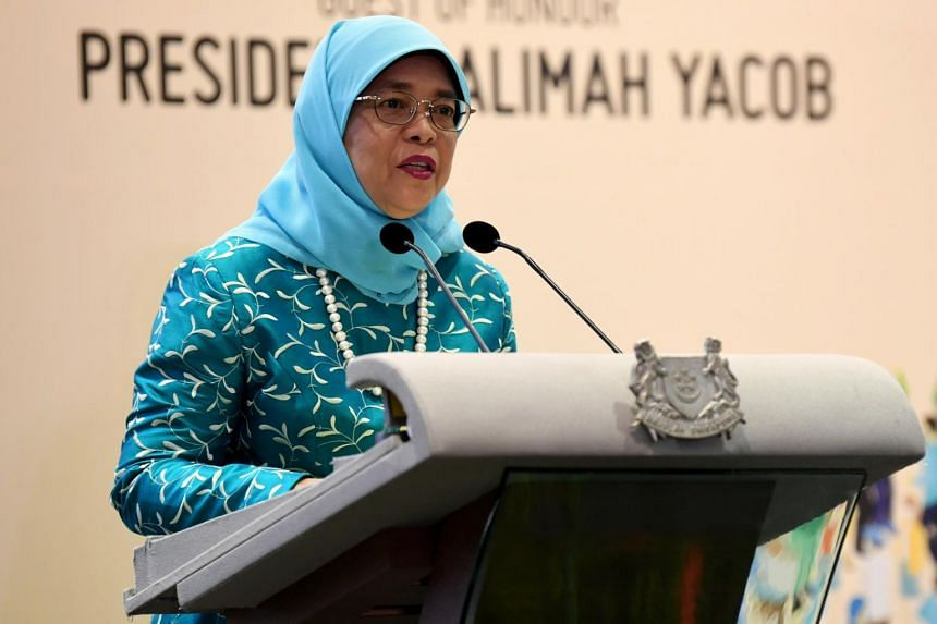 President Halimah Yacob will be hosted to a welcome dinner by Chinese President Xi Jinping during her visit.
