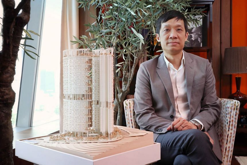 Dr Christopher Lee is co-founder and principal of Serie Architects, which is based in London. The design of the new structure is a joint venture between his firm and Singapore-based Multiply Architects.