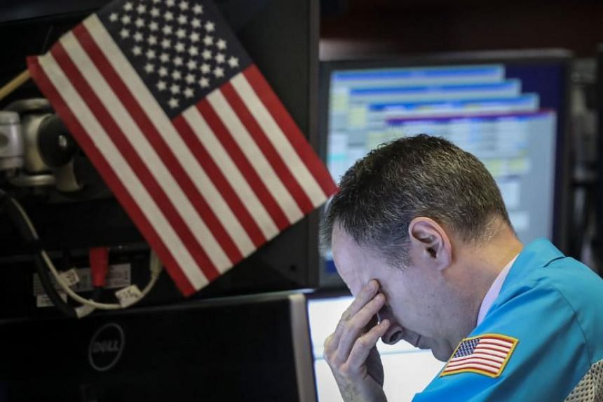 The S&P 500 capped its second-worst session of the year following growing anxieties over a full-fledged trade war with China.
