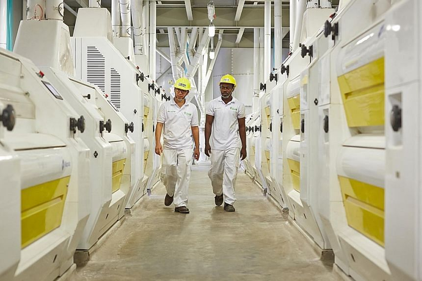 An Olam facility in Ghana. Olam group chief executive Sunny Verghese says its recent acquisition of BT Cocoa in Indonesia and proposed acquisition of Dangote Flour Mills in Nigeria are examples of investing further in its leading businesses.