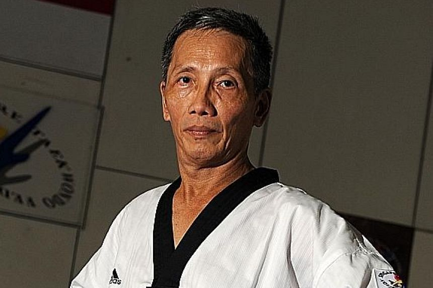General manager Lim Teong Chin has been with Singapore Taekwondo Federation for more than 40 years.