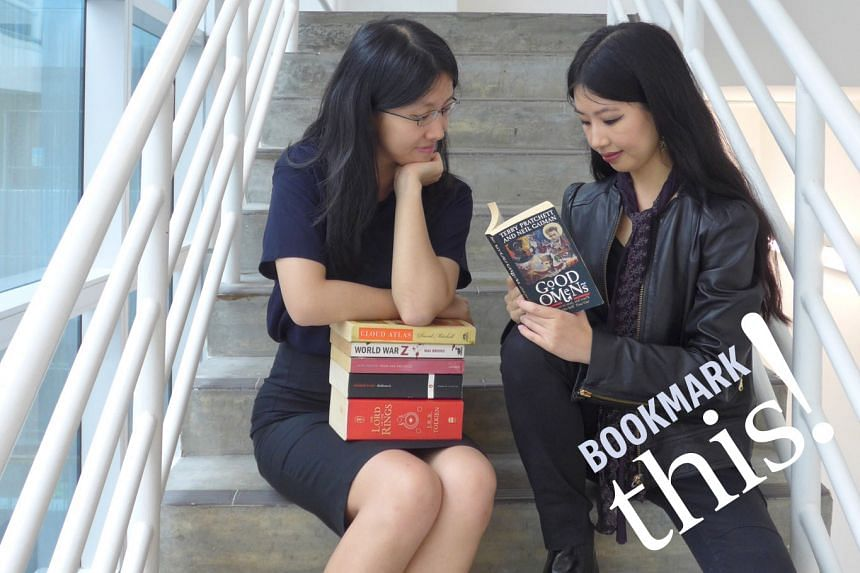Listen to Bookmark This!, a monthly podcast series where your hosts from The Straits Times - Toh Wen Li (left) and Olivia Ho - talk about titles in the headlines and recommend reads fresh off the press.