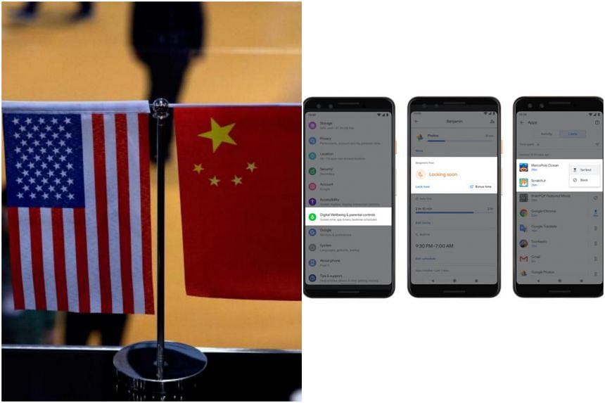 Foreign editor Jeremy Au Yong will talk about how the United States-China trade war affects Singapore, and tech editor Irene Tham will explain what tech giants can do to better protect users.