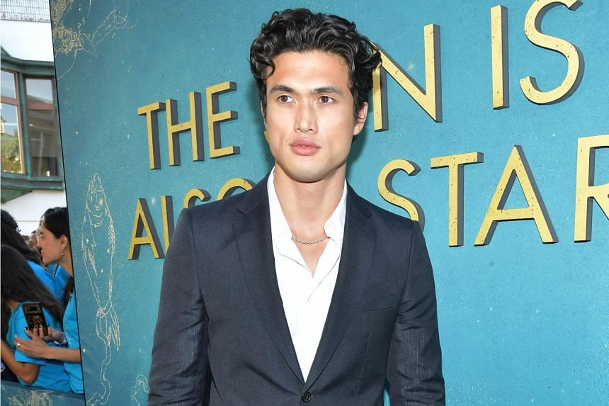 Actor Charles Melton, 28, plays Daniel in The Sun Is Also A Star and like his character, he believes in the idea of true love.