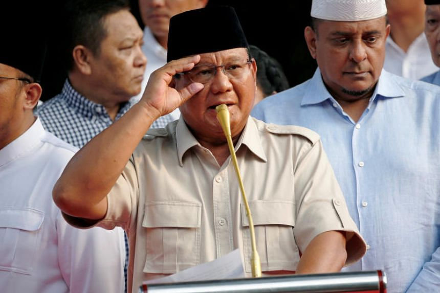 Prabowo Subianto is expected lose the election by more than 12 percentage points, according to Tuesday's (May 14) official tally.