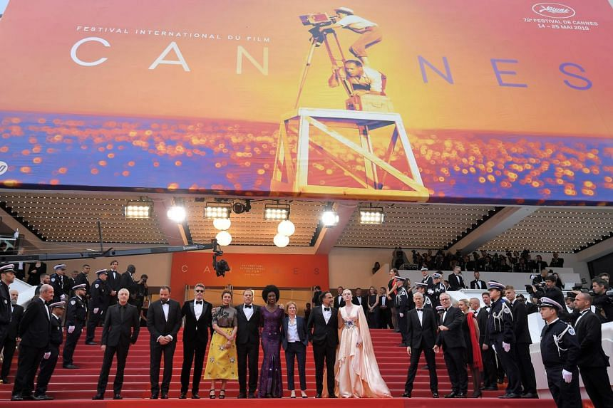 The opening ceremony and screening of the film The Dead Don't Die in competition at the 72nd Cannes Film Festival, on May 14, 2019.