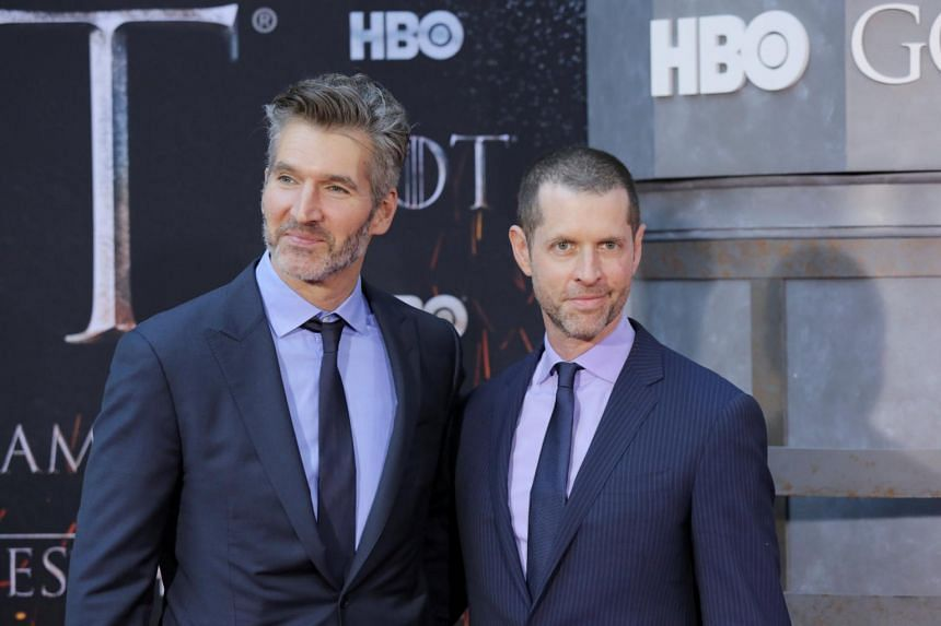 Disney chief executive Bob Iger confirmed that the 2022 film would come from David Benioff (left) and D.B. Weiss, creators of mediaeval fantasy series Game Of Thrones.