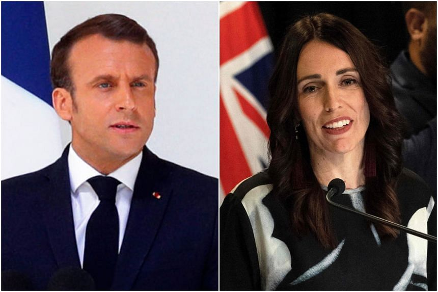 French President Emmanuel Macron and New Zealand Prime Minister Jacinda Ardern called for the meeting after the March 15 Christchurch mosque shootings.