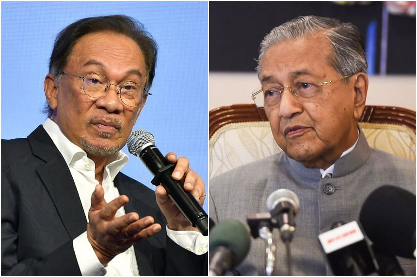 Prior to GE14, Pakatan component parties agreed that if the coalition won, Tun Dr Mahathir Mohamad (right) would be the PM for two years before handing over the reins to Datuk Seri Anwar Ibrahim.