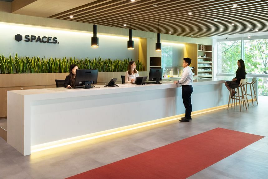 An increasing number of workers are looking for workplaces with flexible workspace policies. PHOTO: SPACES