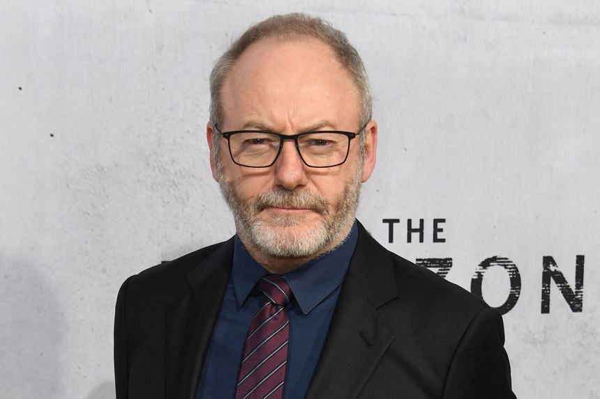 Irish actor Liam Cunningham.